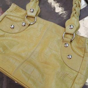 Roberta Gandolfi Chartreuse Italian Leather Bag